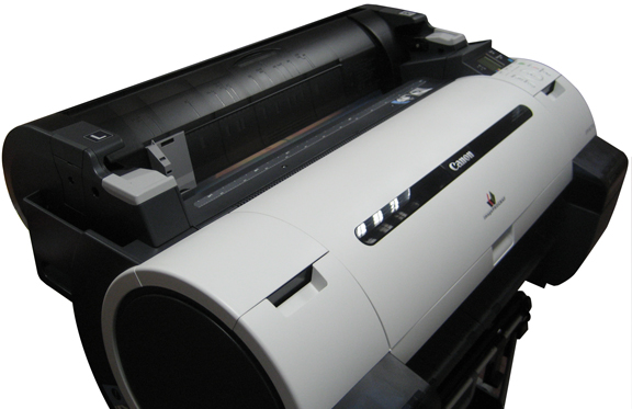 Small format imagesetter black ink system